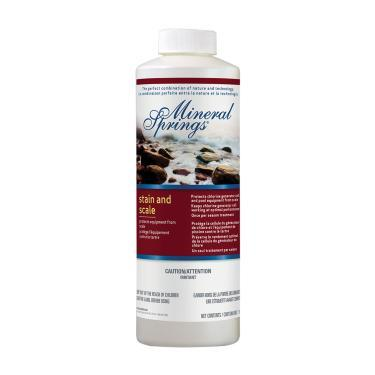 Mineral Springs® Stain and Scale