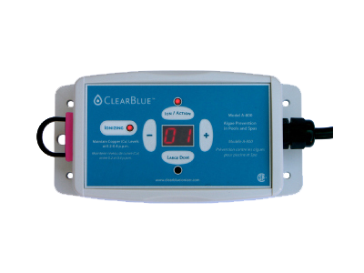 ClearBlue Ionizer Pool Sanitation System