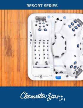 Clearwater Resort Series Spas
