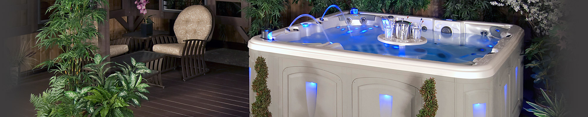 Relax in a quality Clearwater Hot Tub