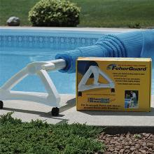 Inground Pool Solar cover Rollers FeherGuard Blanket Handler Reel System (FBHRS)