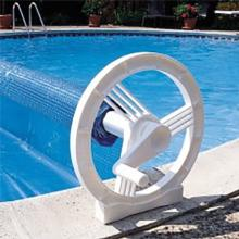 Inground Pool Solar cover Rollers FeherGuard Wheels Reel System (FWRS)