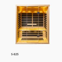 S-825 Low EMR/Low EF Infrared Sauna