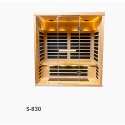 S-830 Low EMR/Low EF Infrared Sauna