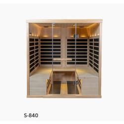 S-840 Low EMR/Low EF Infrared Sauna
