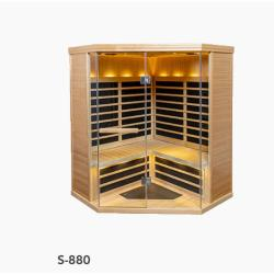 S-880 Low EMR/Low EF Infrared Sauna