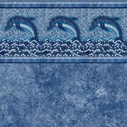 Dolphin Mosaic Tile<br> Avelino Floor