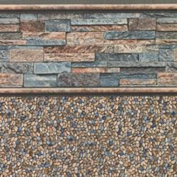 Stacked Stone Tile<br> Clearwater Tan Floor