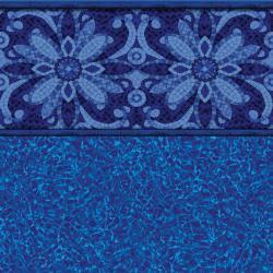 Agra Tile<br> Brilliant Bahama Floor