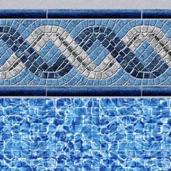 Braided RiverTile<br> River Mosaic Floor