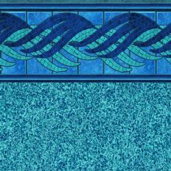 Ivy Panama Tile<br> Island Blue Floor