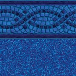 Mosaic Wave Tile<br>Brilliant Bahama Floor