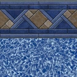 North Shore Tile<br> Blue Bahama Floor