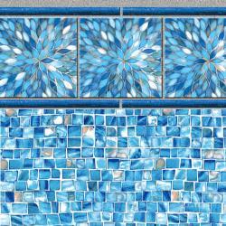 Sunburst Tile<br> Oyster Bay Floor