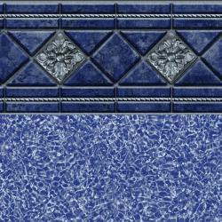 Valencia Tile<br> Blue Bahama Floor