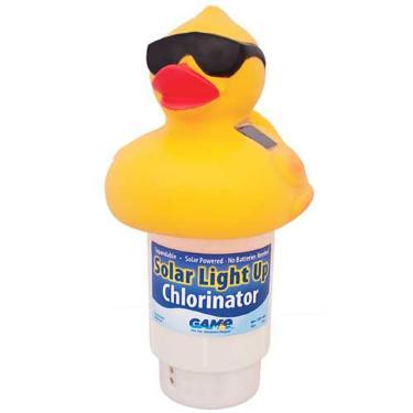Solar Duck Chlorinator Feeder Floater Dispenser