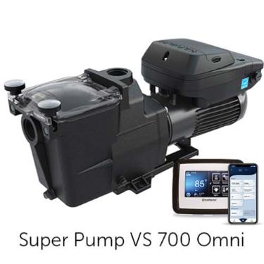 Super Pump VS 700 Omni Variable-Speed Pump with Smart Pool Control