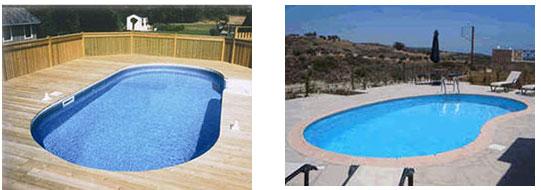 Meet the Triumph semi in-ground pool