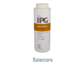 IPG Hot Tub Balancer Chemicals