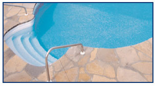 Latham In-Ground Pool Steps