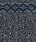 Cobalt Lake Grey Mosaic Inground Pool Liner