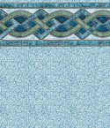 Marble Inlay Crystal Inground Pool Liner