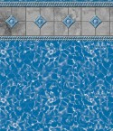 Stone Braid Royal Prism Inground Pool Liner