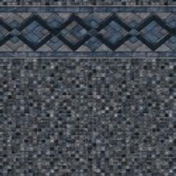 Cobalt Lake <br>Grey Mosaic