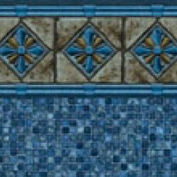 Royal Blue <br>Mosaic