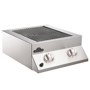 Built-In Flat Top Grill Head - Stainless Steel