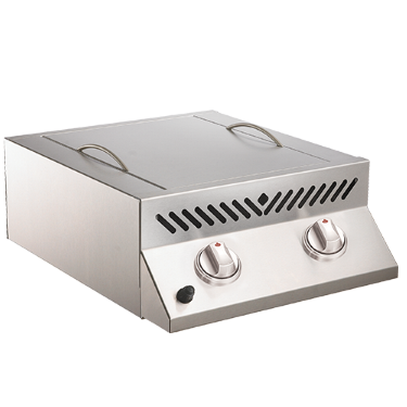 Built-In Flat Top SIZZLE ZONE™ Head - Stainless Steel