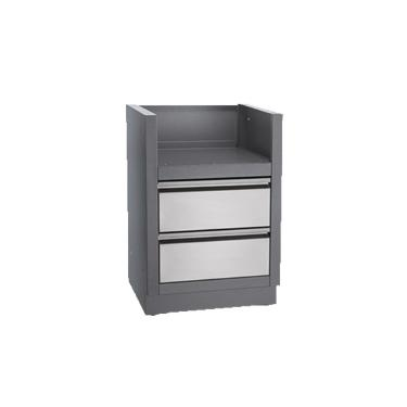 OASIS™ Under Grill Cabinet for Drop-In SIZZLE ZONE™ Infrared Side Burner BISZ300 or Built-In Flat To