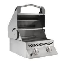 Built-In SIZZLE ZONE™ Head - Stainless Steel