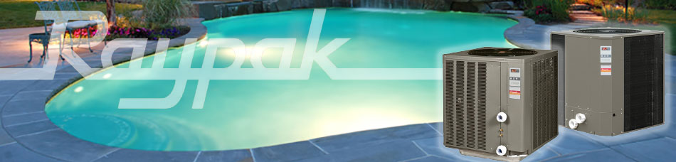 Quality Built Raypak Pool Heaters and Heat Pumps