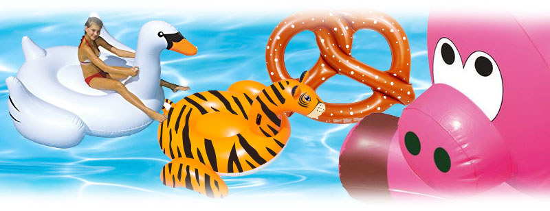 Swimline Pool Inflatables and Lounger Chairs