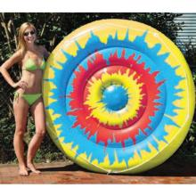 Inflatable Pool Toys Swimline Tie-Dye Island (90502)