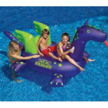Inflatable Pool Toys Swimline SeaDragon Ride-On (90625)