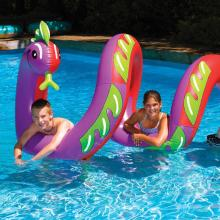 Inflatable Pool Toys Swimline Two Headed Curly Serpent (9087)