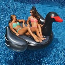 Inflatable Pool Toys Swimline Giant Swan (Black) (90628)