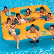 Labyrinth Island Inflatable Float
