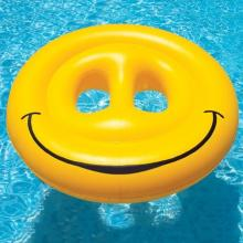 Inflatable Pool Toys Swimline Smiley Face Island (9053)