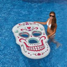 Inflatable Pool Toys Swimline Sugar Skull Float (90555)