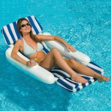 Pool Loungers Swimline SunChaser Padded Luxury Lounge Chair (10010)