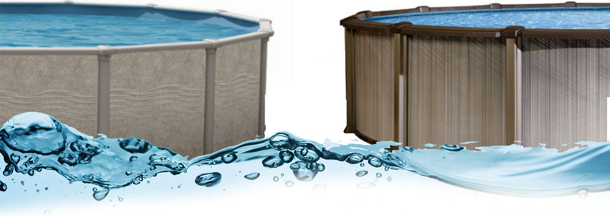 Wide range of models to select from with Trendium Above Ground Pools