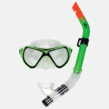 Catalina Recreational Snorkel and Mask - Black and Lime