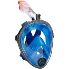 Leader Snorkel Mask - Blue and Black
